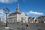 Netherlands, Province Limburg, Maastricht: Old Town. The Stadhuis (Town Hall) in the Markt (Market Square)
