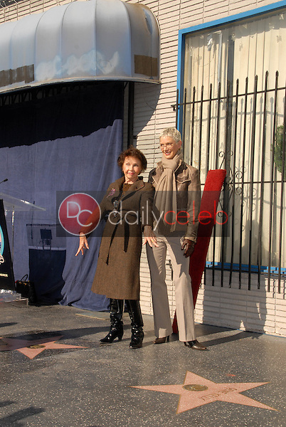 Leslie Caron and Patricia Kelly<br /> at the star ceremoney for Leslie Caron into the Hollywood Walk of Fame, Hollywood, CA. 12-08-09<br /> David Edwards/DailyCeleb.com 818-249-4998