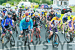 At the Start of the County  Cycling Championships in Cordal on Thursday were