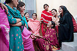 Gilgit, Pakistan on Sept 20, 2010.  Photos by Ellen Jaskol.   Scholarship girls in Gilgit, in Saidullah's home.