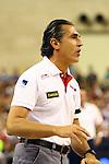 Sergio Scariolo. Preparatory Olympics Games London 2012. Spain vs USA: 78-100.