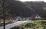 Farm rooftops near Seljalandsfoss