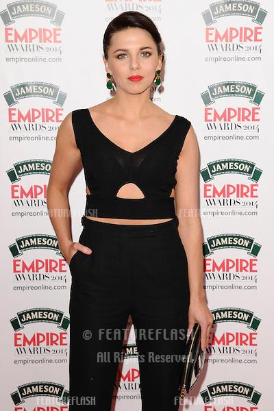 Ophelia Lovibond<br /> arives for the Empire Magazine Film Awards 2014 at the Grosvenor House Hotel, London. 30/03/2014 Picture by: Steve Vas / Featureflash