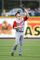 June 3, 2009:  Shortstop Kody Kirkland of the Gwinnett Braves in the field during a game at Frontier Field in Rochester, NY.  The Gwinnett Braves are the International League Triple-A affiliate of the Atlanta Braves.  Photo by:  Mike Janes/Four Seam Images
