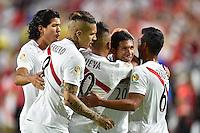 Glendale, AZ - Wednesday June 08, 2016:  during a Copa America Centenario Group B match between Ecuador (ECU) and Peru (PER) at University of Phoenix Stadium.