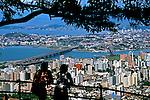 Cidade de Florianópolis, Santa Catarina. 1997. Foto de Marcos Issa.