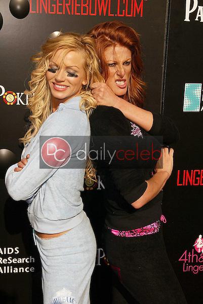 Nikki Ziering and Angie Everhart