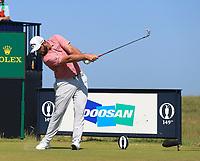18th July 2021; Royal St Georges Golf Club, Sandwich, Kent, England; The Open Championship,  Golf, Day Four; Jon Rahm (ESP) at the par three 6th hole