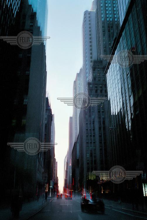 Wall Street, Manhattan.