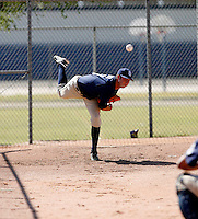 Anthony Bass / San Diego Padres 2008 Instructional League..Photo by:  Bill Mitchell/Four Seam Images