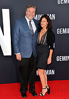 "LOS ANGELES, USA. October 07, 2019: Bill Westenhofer & Guest at the premiere of ""Gemini Man"" at the TCL Chinese Theatre, Hollywood.<br /> Picture: Paul Smith/Featureflash"