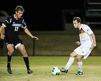 The Winthrop University Eagles beat the UNC Asheville Bulldogs 4-0 to clinch a spot in the Big South Championship tournament.  Patrick Barnes (11), Jack Huber (17)