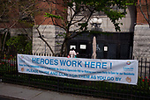 April 21, 2020<br /> Brooklyn, New York<br /> Cobble Hill<br /> <br /> The Cobble Hill Health Center has suffered 55 coronavirus related deaths during the coronavirus pandemic.