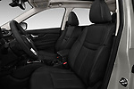 Front seat view of 2017 Nissan Rogue SL-Hybrid 5 Door SUV Front Seat  car photos