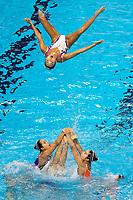 Japn JPN<br /> FUKUMURA Juka INUI Yukiko<br /> KIJIMA Moeka KUMAGAI Hinata<br /> KYOGOKU Okina MARUMO Kei<br /> TSUKAMOTO Mayu YANAGISAWA Akane<br /> YASUNAGA Mashiro YOSHIDA Megumu<br /> Gwangju South Korea 18/07/2019<br /> Artistic Swimming Free Combination Preliminaries<br /> 18th FINA World Aquatics Championships<br /> Yeomju Gymnasium <br /> Photo © Giorgio Scala / Deepbluemedia / Insidefoto