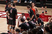 Stanford, CA - Saturday, April 4, 2015: Stanford Men's Volleyball versus USC.