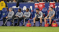 CARSON, CA - SEPTEMBER 21: Montreal Impact bench during a game between Montreal Impact and Los Angeles Galaxy at Dignity Health Sports Park on September 21, 2019 in Carson, California.