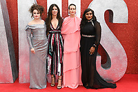 "Helena Bonham Carter, Sandra Bullock, Sarah Paulson and Mindy Kaling<br /> arriving for the ""Ocean's 8"" European premiere at the Cineworld Leicester Square, London<br /> <br /> ©Ash Knotek  D3408  13/06/2018"