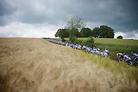peloton up the Gulperberg<br /> <br /> Ster ZLM Tour<br /> stage 3: Buchten-Buchten (190km)