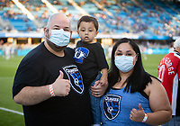 SAN JOSE, CA - SEPTEMBER 4: Donor Network West before a game between Colorado Rapids and San Jose Earthquakes at PayPal Park on September 4, 2021 in San Jose, California.