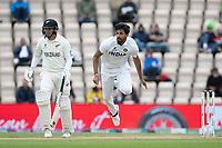 Ishant Sharma, India follows through as Ross Taylor, New Zealand backs up during India vs New Zealand, ICC World Test Championship Final Cricket at The Hampshire Bowl on 22nd June 2021