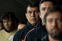 SÃO PAULO, SP, 22.08.2019: CORINTHIANS-FLUMINENSE - Fábio Carille (técnico) do Corinthians. Corinthians e Fluminense-RJ, o jogo é válido pela partida de ida das quartas de final da Copa Sul-Americana 2019 - Arena Corinthians, nesta quinta (22). (Foto: Maycon Soldan/Código19)