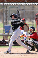 Jordan Pacheco, Colorado Rockies 2010 minor league spring training..Photo by:  Bill Mitchell/Four Seam Images.