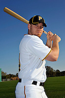 Feb 28, 2010; Bradenton, FL, USA; Pittsburgh Pirates  outfielder Brandon Moss (44) during  photoday at Pirate City. Mandatory Credit: Tomasso De Rosa/ Four Seam Images