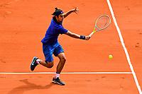 5th June 2021; Roland Garros, Paris France; French Open tennis championships day 9;  Lorenzo Musetti (Ita)