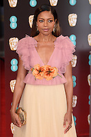 Naomie Harris<br /> at the 2017 BAFTA Film Awards held at The Royal Albert Hall, London.<br /> <br /> <br /> ©Ash Knotek  D3225  12/02/2017