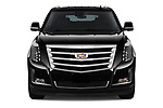 Car photography straight front view of a 2020 Cadillac Escalade-ESV Premium-Luxury 5 Door SUV Front View