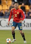 Spain's Oscar Rodriguez during European Under-21 Championship 2021 qualifying round match. November 14,2019.(ALTERPHOTOS/Acero)