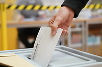 Stimmabgabe - Groß-Gerau 26.09.2021: Bundestagswahl 2021
