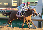 8 Seaneen Girl and Miguel Mena win the 69th running of the Golden Rod Grade 2 $150,000 at Churchill Downs.  November 24, 2012.