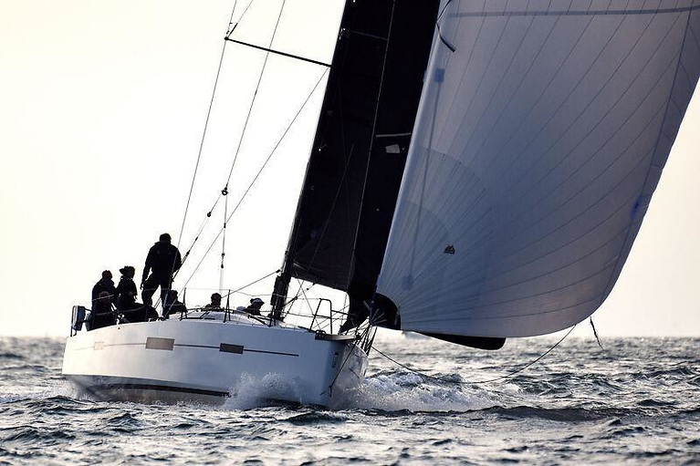 Pata Negra (Andrew Hall, Pwllheli SC), the latest addition to the ISORA fleet, has made her debut in her new role with some style, placing second in IRC1 and third overall in the Fastnet Race 2021
