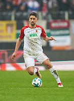 Rani KHEDIRA, FCA 8  <br /> AUGSBURG -  SV WERDER BREMEN  1-3<br /> Football 1. Bundesliga , Augsburg,17.03.2018, 27. match day,  2017/2018, 1.Liga, 1.Bundesliga, <br />  *** Local Caption *** © pixathlon<br /> Contact: +49-40-22 63 02 60 , info@pixathlon.de