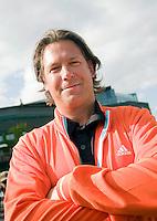 28-6-08, England, Wimbledon, Tennis, Coach Sven Groeneveld