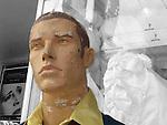 Slightly battered mannequin in Vancouver