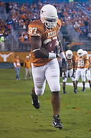 04 November 2006: Texas back Henry Melton warms up before the Longhorns 36-10 victory over the Oklahoma State University Cowboys at Darrel K Royal Memorial Stadium in Austin, Texas.