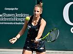 April 6,2018:   Kristyna Pliskova (CZE) loses to Anastasia Sevastova (LAT) 6-4, 6-0, at the Volvo Car Open being played at Family Circle Tennis Center in Charleston, South Carolina.  ©Leslie Billman/Tennisclix/CSM
