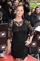 Sarah Harding<br /> arrives for the T.R.I.C. Awards 2017 at the Grosvenor House Hotel, Mayfair, London.<br /> <br /> <br /> ©Ash Knotek  D3240  14/03/2017
