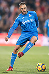 Francisco Molinero Calderon of Getafe CF in action during the La Liga 2017-18 match between Getafe CF and Valencia CF at Coliseum Alfonso Perez on December 3 2017 in Getafe, Spain. Photo by Diego Gonzalez / Power Sport Images