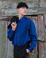Roger Paul Lucas 2013 Senior Pictures. Taken at Barnesville Park, Barnesville Ohio and grandfather's farm, Jacobsburg, Ohio.