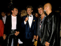 Montreal (Qc) CANADA - Sept 2nd 1986 - Musique PLus Gala :The Buzz Band interviewed by Marc Carpentier