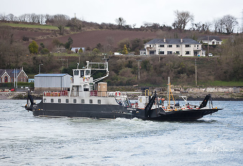 "Today, two ferries the ""Glenbrook"" and the ""Carrigaloe"" service the River Lee connecting the communities on both sides of the harbour between Cobh and Cork. The ferries can carry 200 passengers and 27 cars. The crossing from Glenbrook to Carrigaloe takes 5 minutes"
