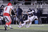 Har-Ber Wildcats Sophomore Christian Ramirez (84) kicks a fieldgoal during the first round play-off game against the Fort Smith Northside Grizzlies Friday, November 13, 2020, at Wildcat Stadium, Springdale, Arkansas (Special to NWA Democrat-Gazette/Brent Soule)