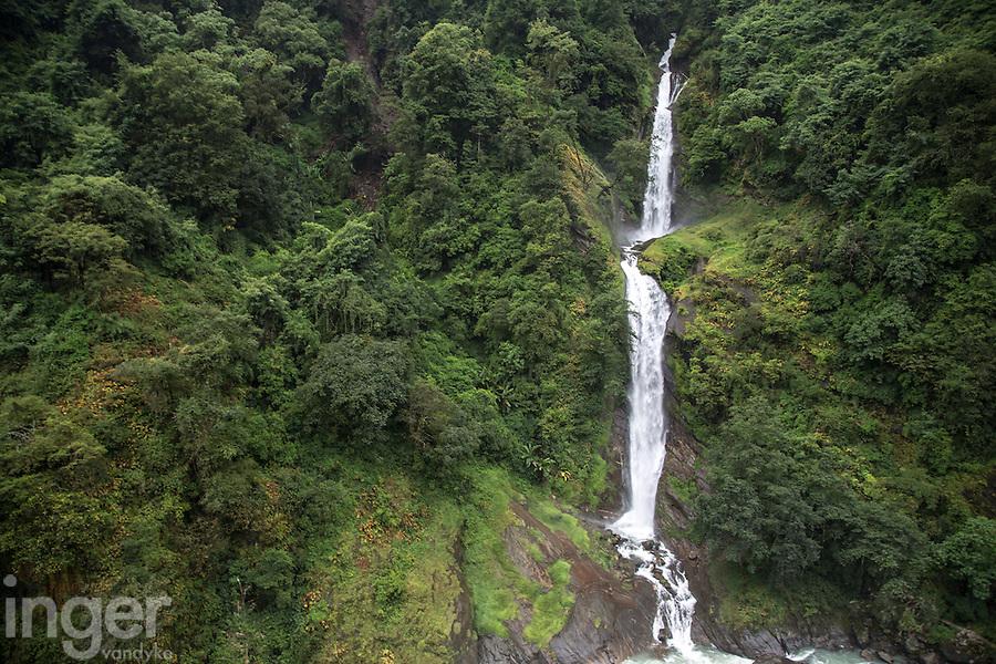 Waterfall near The Last Resort, Nepal
