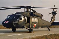 - US Army, Blackhawk MEDEVAC helicopter for medical evacuation during NATO exercises in Germany<br /> <br /> - US Army, elicottero Blackhawk MEDEVAC per evacuazione sanitaria  durante esercitazioni NATO in Germania