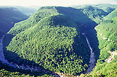 Serra do Caracol, Rio Grande do Sul, Brazil. Spectacular view of the canyon with a river.