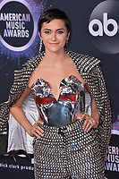 LOS ANGELES, USA. November 25, 2019: Alyson Stoner at the 2019 American Music Awards at the Microsoft Theatre LA Live.<br /> Picture: Paul Smith/Featureflash